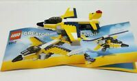 Lego Creator #6912 Super Soarer Aeroplane Jet with Instructions - Unboxed