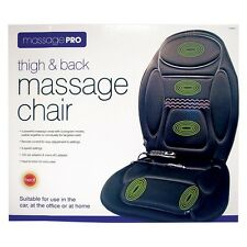 Thigh &Back Massage Pro Chair Car/Office/Home Remote control Winter Xmas Gift-UK