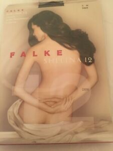 Falke Shelina 12  tights Ultra Transparent New in pack Black Medium ( Ii)