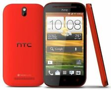 Original HTC One SV Boost Mobile Touchpad Smartphone Red Wifi 4G USA Certified