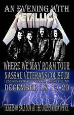 Metallica Replica *Nassau Coliseum* 1991 Concert Poster
