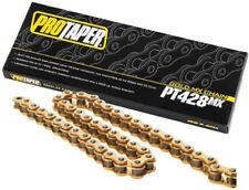 Pro Taper 428 Gold Chain 134L 428 x 134 Links ProTaper MX Chain PT428MX 023103
