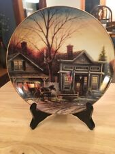 Terry Redlin Office Hours Collector Plates