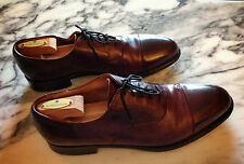 COLE HAAN by CROCKETT & JONES UK Cordovan Captoe Blucher Oxford Shoes 9.5 Narrow