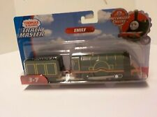 Thomas And Friends TrackMaster Motorized Emily Train Engine With Cargo HTF