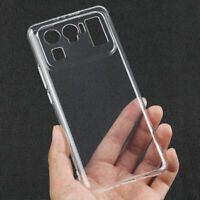 For Xiaomi Mi 11 Ultra, Clear Transparent TPU Silicone Soft Clear Cover Case
