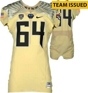 Oregon Team-Issued #64 Salute The State Jersey 2015 Spring Game-Sz 46 - Fanatics