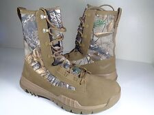 """Nike SFB Field 8"""" Real Tree Coyote Brown White Military Boots SZ 10 (845167-990)"""