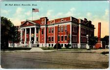 KNOXVILLE, Tennessee  TN    THE HIGH SCHOOL  ca 1910s  Postcard