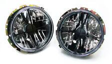 SMOKED HEADLIGHTS HEADLAMPS FOR VW GOLF 1 MK1 155 BEETLE CADDY T2 LT 28-35 v2