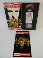 Vintage 1989 QUEENSRYCHE VIDEO MINDCRIME VHS * RARE OOP * *VG Free Shipping*