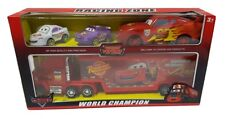 Cars Mack Manny Truck Uncle  37 cm +  Lightning McQueen + 2 Cars NEW