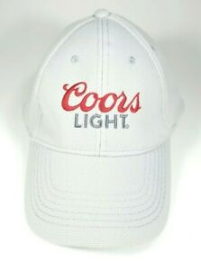 Coors Light Beer Gray Baseball Cap Hat with Adjustable Snapback /& Logo New!!