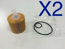 2x Oil Filter Suits R2648P Toyota Aurion Camry Kluger RAV4  04152-31090