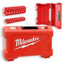 NEW Milwaukee SHOCKWAVE Impact Kit CASE ONLY w/2 Racks Fits Phillips, TORX Bit +