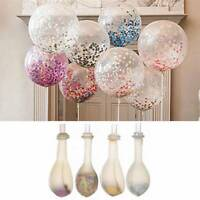 20PCS Colorful Confetti Balloon Birthday Wedding Party Decor Helium Balloons NEW