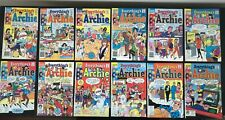LOT OF 12 COMICS Everything's Archie 136-150 RUN (1988-1989) VF