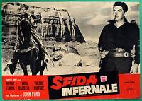 T26 Fotobusta Sfida Infernal John Ford Henry Fonda Linda Darnell Victor Mature