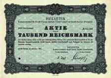 Helvetia Konservenfabrik AG Groß Gerau 1931 Südzucker Mannheim Lenzburg Schweiz