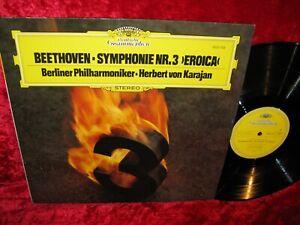 1977 GERMAN NM DG 2531 103 STEREO BEETHOVEN SYMPHONY 3 BPO KARAJAN COVER EXC+