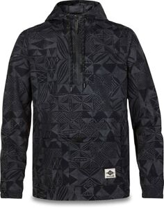 New 2019 Dakine Men's Plate Lunch Lightweight Pull Over Jacket Large Darkness