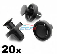 10x Wheel Arch Liner Mudguard Body Mounting Clips for Honda Accord