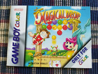 Magical Drop - Authentic - Nintendo Game Boy Color - GBC - Manual Only!