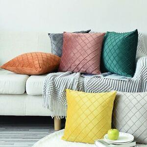 Square Pillow Case Throw 45*45 Case Cushion Decor Geometric Pillow New