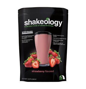 Shakeology Strawberry 30 Serving Bag - Unopened