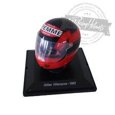 Spark Editions 1:5 Scale Gilles Villeneuve 1982 F1 Formula 1 Helmet Casque Helm