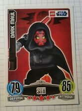 Star Wars Karte Force Attax Movie Serie 1 L5 Limitiert Dark Maul Lego selten!!!