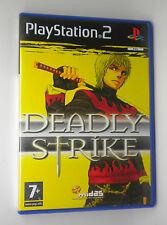 DEADLY STRIKE  SONY PS2