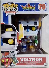 "VOLTRON Defender of the Universe Pop Animation 4"" Vinyl Figure #70 Funko 2015"