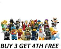 LEGO MINIFIGURES SERIES 9 71000 RARE PICK YOUR OWN + BUY 3 GET 4TH FREE