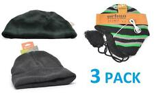 Winter Lot 3 Pack Mens Beanie Hat Casual Warm Brand New Tek Gear Urban Pipeline