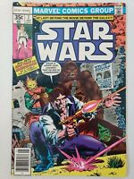 STAR WARS #7 (1977) MARVEL COMICS HAN SOLO CHEWBACCA! NEWSSTAND VARIANT EDITION
