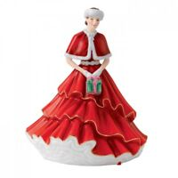 A Gift for Christmas Annual Figurine by Royal Doulton NEW IN THE BOX