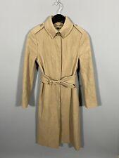 LK BENNETT Trench Coat - UK6 - Beige - Wool - Great Condition - Women's