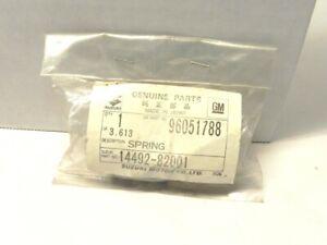 1985-86-87-88 CHEVY CHEVROLET SPRINT EXHAUST PIPE SPRING SUZUKI #14492-82001 NOS