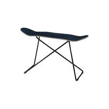 Skateboard Table Skate Deck Stool Unique Furniture Skater Look SF-201BK Azumaya