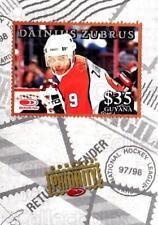 1997-98 Donruss Priority Stamps Bronze #34 Dainius Zubrus