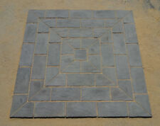 2.7m x 2.7m Berkeley Square Slate Grey patio Inc Del ( some exceptions)