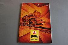 X208 LIMA Train catalogue Ho 1994 132 pages 29,7*21 cm F wagon voiture