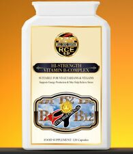 Hi-Strength Vit B-Complex - Supports Energy Production & May Help Relieve Stress
