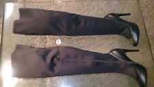 STUNNING STRETCH THIGH BOOTS, HIGH HEELS NEW WITH TAGS SIZE 7