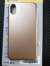Humixx Skin iPhone X 10 Metallic Gold Hülle Cover HardCase