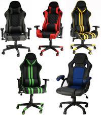 Gaming Computer Chair Ergonomic Adjustable Swivel Recliner Laptop Office Chair