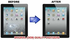 Apple iPad 3 BROKEN Digitizer Screen Replacement Repair Service - White or Black