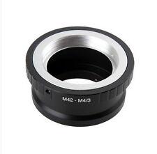 Nuevo Adaptador de montaje para M42/Lente Universal a M4/3 cámaras digitales