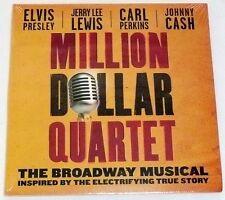 MILLION DOLLAR QUARTET SAMPLER CD Broadway Musical Chicago Video + 3 Songs >NEW<